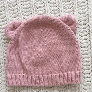 Sweater-Knit Beanie for Baby.